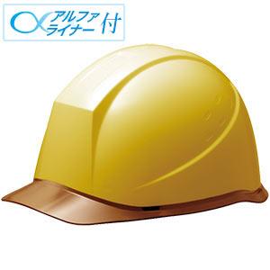 ヘルメット SC−12PCL RA α イエロー/ブラウン