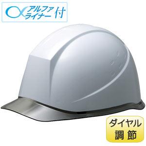 ヘルメット SC−12PCL DR α ホワイト/スモーク