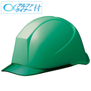 ヘルメット LSC−11PCL α グリーン/グリーン