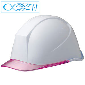ヘルメット LSC−11PCL α ホワイト/ピンク