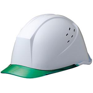 ヘルメット LSC−11PCLV ホワイト/グリーン