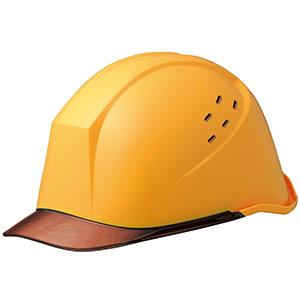 ヘルメット LSC−11PCLV イエロー/ブラウン