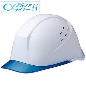 ヘルメット LSC−11PCLV α ホワイト/ブルー