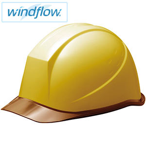 ヘルメット SC−11PCL RA3−UP Windflow イエロー/ブラウン