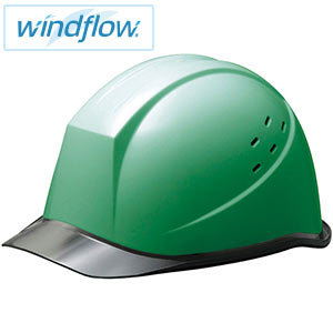 ヘルメット SC−11PCLVRA3−UP Windflow グリーン/スモーク