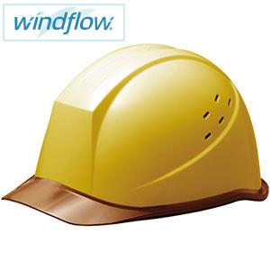 ヘルメット SC−11PCLVRA3−UP Windflow イエロー/ブラウン