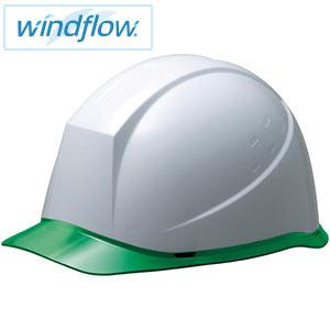 ヘルメット SC−12PCL RA3−UP Windflow ホワイト/グリーン