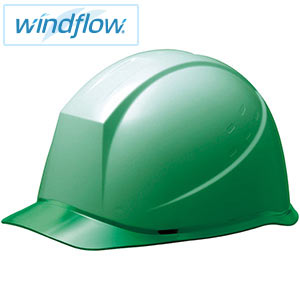 ヘルメット SC−12PCL RA3−UP Windflow グリーン/グリーン