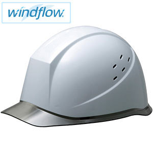 ヘルメット SC−12PCLVRA3−UP Windflow ホワイト/スモーク
