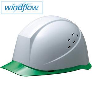 ヘルメット SC−12PCLVRA3−UP Windflow ホワイト/グリーン