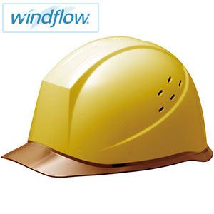 ヘルメット SC−12PCLVRA3−UP Windflow イエロー/ブラウン
