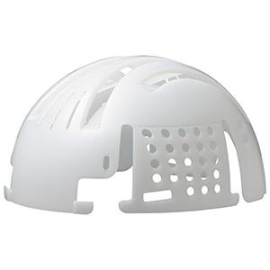 頭部保護用品 インナーキャップ INC−100 ホワイト エコタイプ