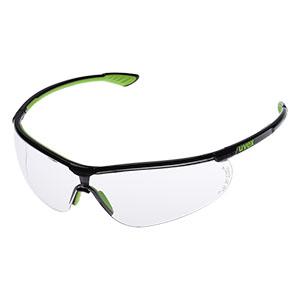 uvex sportstyle X−9193 透明レンズ ブラック・ライム