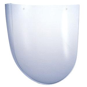 ヘルメット取付型防災面用パーツ (MB−11H・MB−12・MB−73用) スペアシールド