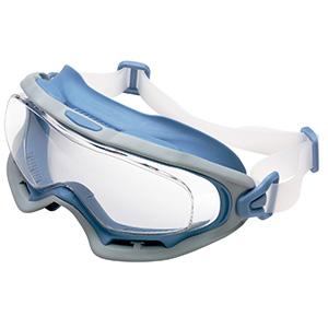 ビジョンベルデ 保護メガネ VG−503F シリコンバンド ライトブルー