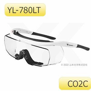 レーザ光用遮光めがね YL−780LT CO2C