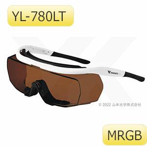 レーザ光用遮光めがね YL−780LT MRGB