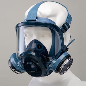 防じん防毒併用マスク 伝声器付 1521HG