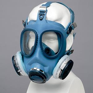 直結式小型防毒マスク 1621G 02型