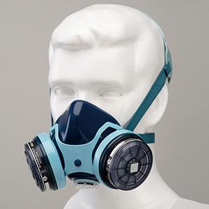 防じん防毒併用マスク 半面形 7121RG
