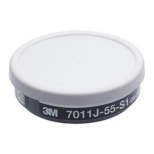 吸収缶 7011J−55−S1 有機用フィルター付 60個入