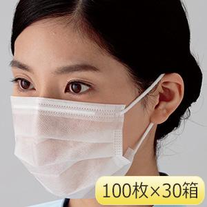 ミドリクリーンマスク (2枚重ね) K−205 耳掛け 3000枚