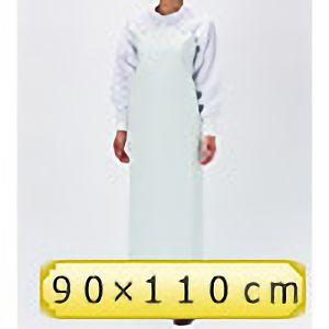 塩化ビニール胸前掛 FIP−300A 90×110cm ホワイト (裏グリーン)