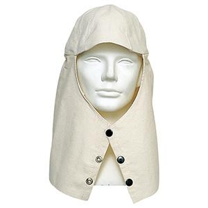 頭巾 帆布頭巾つば無