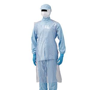 ベルデポリガード エプロン 袖なし ピンク (50枚入) NO.1112
