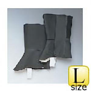 帆布 脚絆 ML−101型 (面ファスナー式) 黒 L