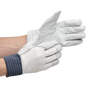 革手袋 MT−14D 甲メリヤス付 白 12双入