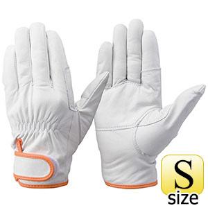 トンボレックス 牛革手袋 C−408W 中厚・ガンカット仕様 作業用 S
