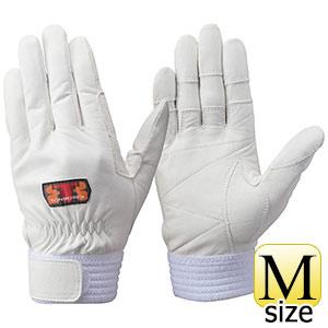トンボレックス ソフト山羊革製手袋 G−REX32W ホワイト M