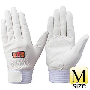 トンボレックス ソフト山羊革製手袋 G−REX31W ホワイト M