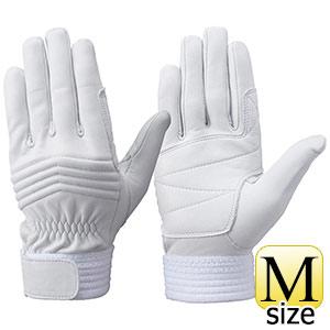 トンボレックス 牛革手袋 C−33W 中厚タイプ ホワイト M