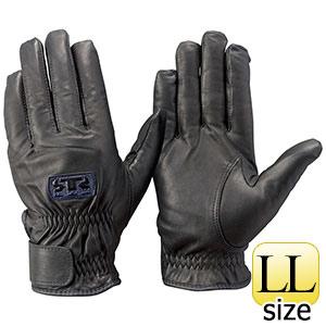 トンボレックス 牛革手袋 CSB−251BK 防寒・薄手タイプ ブラック LL