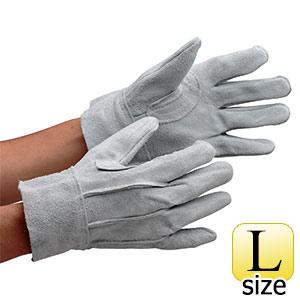 革手袋 AG465 牛床革 背縫い L (販売単位:12双)
