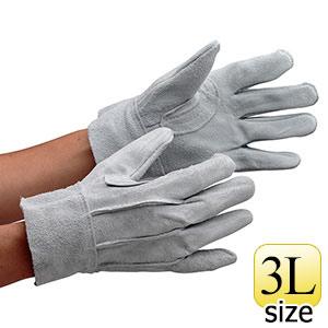 革手袋 AG465 牛床革 背縫い 3L (販売単位:12双)