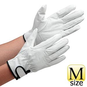 革手袋 AG523 豚クレストマジック アテ付 M (販売単位:10双)
