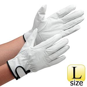 革手袋 AG523 豚クレストマジック アテ付 L (販売単位:10双)