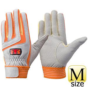 トンボレックス ケブラー(R)繊維製手袋 K−501R オレンジ×イエロー M