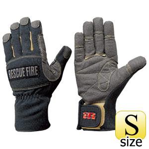 トンボレックス ケブラー(R)繊維製手袋 防寒防水タイプ K−152BK S