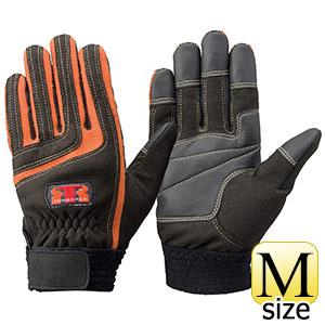トンボレックス ケブラー(R)繊維製手袋 K−512R ブラック/オレンジ M