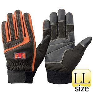 トンボレックス ケブラー(R)繊維製手袋 K−512R オレンジ LL
