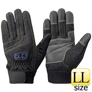 トンボレックス ケブラー(R)繊維製手袋 K−512BK ブラック LL