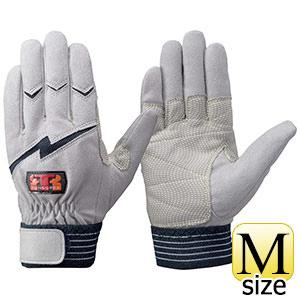 トンボレックス 人工皮革手袋 E−125NV 中厚・ガンカット仕様  M