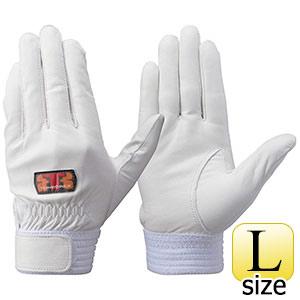 トンボレックス 牛革手袋 CS−930W 薄手・大会用モデル ホワイト L