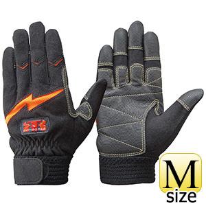 トンボレックス 人工皮革手袋 E−127R 中厚・ガンカット仕様 M
