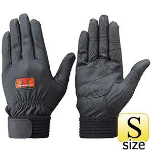 トンボレックス 合成皮革手袋 E−831BK ブラック S