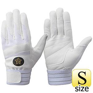 トンボレックス 合成皮革手袋  E−843WD 白 S
